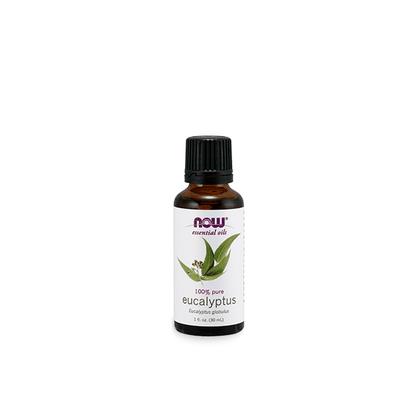 Oleo essencial de eucalipto now solutions 30ml