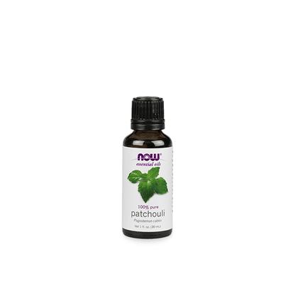 Oleo essencial de patchouli now solutions 30ml