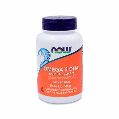 Omega-3 DHA Now 90 caps