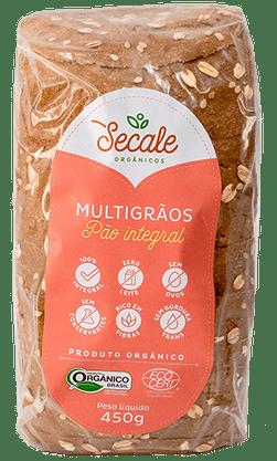 Pão Integral Orgânico  Multigrãos 450g Secale