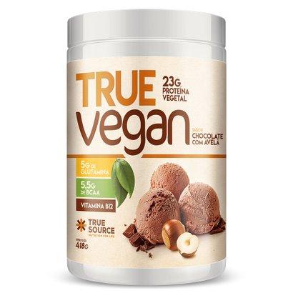 Proteina Vegana True Vegan Chocolate com Avelã 418g