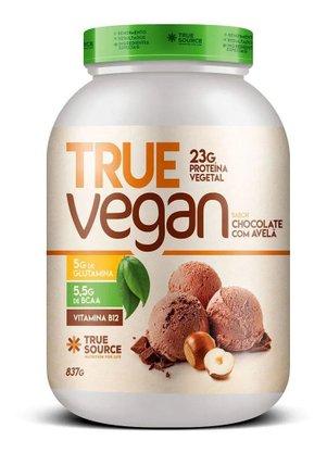 Proteína True Vegan Chocolate com Avelã 837g True Source