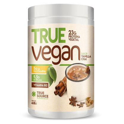 Proteína Vegana True Vegan Vanilla Chai 418g
