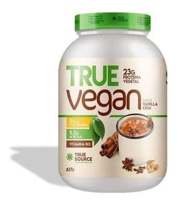 Proteina True Vegan Vanilla Chai 837g True Source