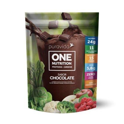 Proteína Vegana One Nutrition Chocolate (450g) Puravida