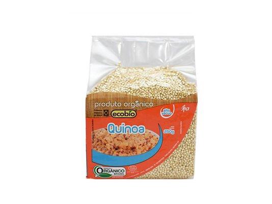 Quinoa em grãos orgânica Ecobio 250g