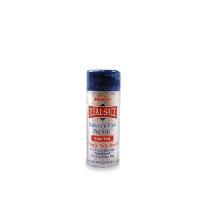 Sal Integral Fino Real Salt Frasco Mini 6g Sal Integral Fino Real Salt Frasco Mini 6g