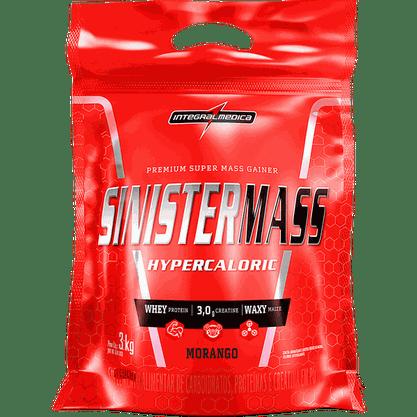 Sinister Mass - Morango - 3Kg Integralmedica