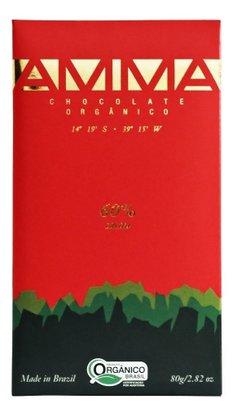 Tablete chocolate 60%  80g Amma