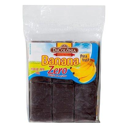 Tablete de Banana Zero Açúcar  DaColônia 180g
