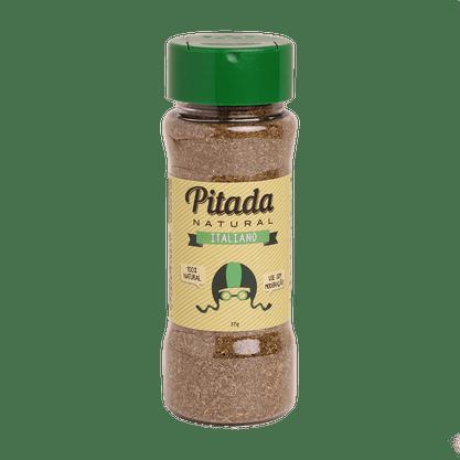 Tempero Pitada Italiano 37g Pitada Natural