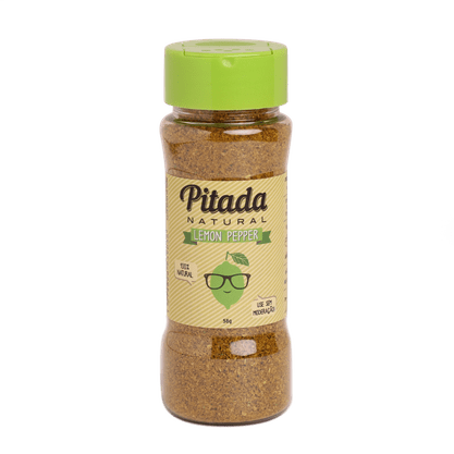Tempero Pitada Lemon Pepper 64g Pitada Natural
