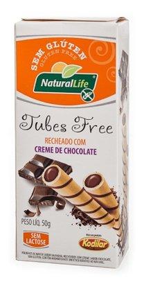 Tubes free sabor chocolate s/ gluten 50g Natural Life