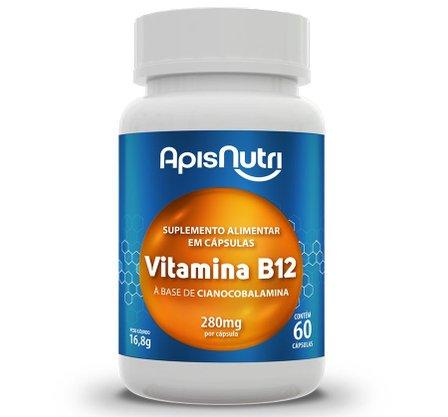 Vitamina B12 60 Caps 280 Mg