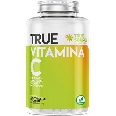 Vitamina C 1000mg True 60 Tabletes
