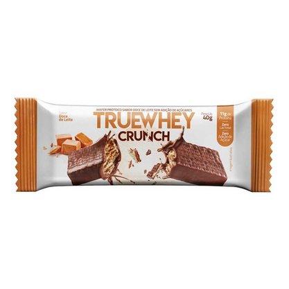 Wafer Proteico Crunch Sabor Doce de Leite 40g Truewhey