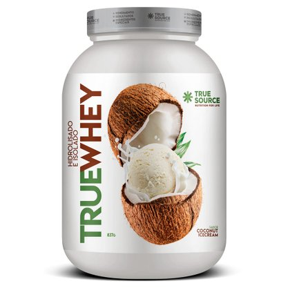 Whey Protein Coconut Ice Cream 837g Truewhey