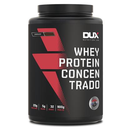 Whey Protein Concentrado Sabor Coco 900g Dux