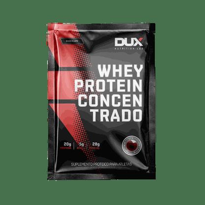 Whey Protein Concentrado Sachê  28g Sabor Coco  Dux