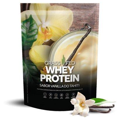 Whey Protein Grassfed Vanilla do Tahiti 450g Puravida