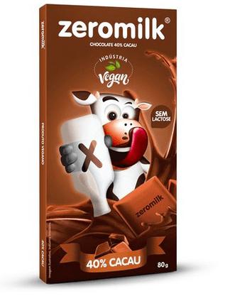 Zeromilk Puro 40% Tablete 80g